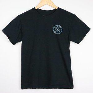 Sand Cloud Black Penguin Short Sleeve T-Shirt